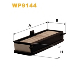 WIX FILTERS WP9144 Filtro, ar do habitáculo - WP9144#WIX