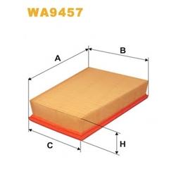WIX FILTERS WA9457 Filtro de ar - WA9457#WIX