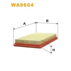 WIX FILTERS WA9604 Filtro de ar - WA9604#WIX