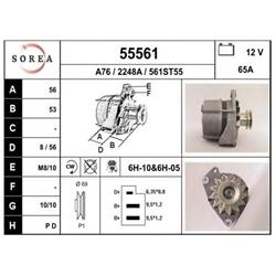 EAI 55561 Alternador - 55561#EAI