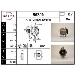 EAI 56390 Alternador - 56390#EAI