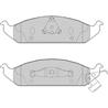 FERODO FDB1254 Jogo de pastilhas para travão de disco - FDB1254#FER