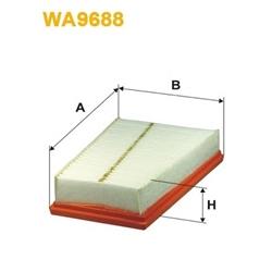 WIX FILTERS WA9688 Filtro de ar - WA9688#WIX