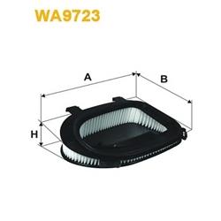 WIX FILTERS WA9723 Filtro de ar - WA9723#WIX