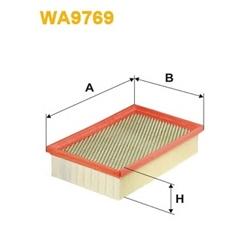 WIX FILTERS WA9769 Filtro de ar - WA9769#WIX