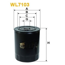 WIX FILTERS WL7103 Filtro de óleo