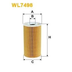 WIX FILTERS WL7498 Filtro de óleo - WL7498#WIX