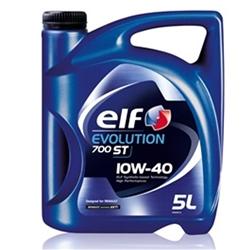 Óleo de Motor ELF Evolution 700 ST 10w40 A3/B4 5L - ELFST10W40/5#ELF